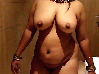 Desi Wifey Ambling Nude