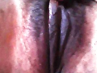 Dark-hued Teenager Playing With Humid Fat Wide Open Fuckbox