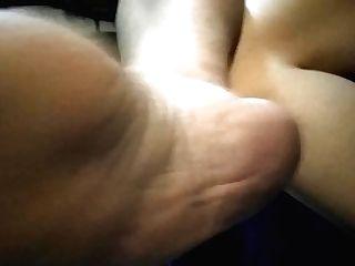 Sensitive Naked Feet