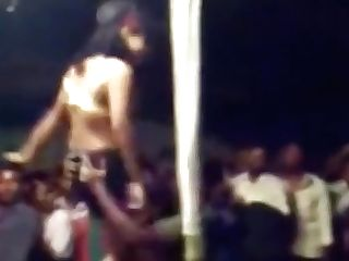 Indian Female Domination Dance Live In Public.