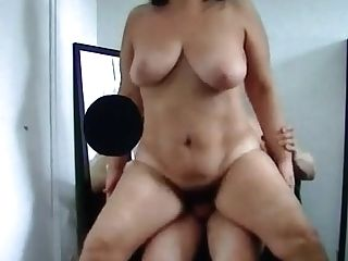 Indian Mummy Fucking With Youthful Stud