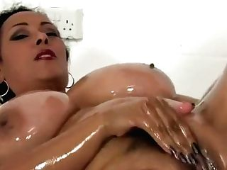 Matures Danica Loves Kneading Babe Oil On Her Twat