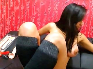 Indian Chick Doing Porno On Rope Harness Web Cam Look Like Mallu Dame But Supah