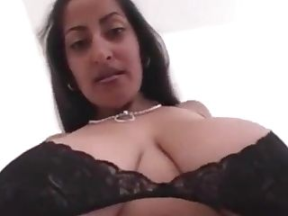 Big-chested And Gorgeous Indian Honey